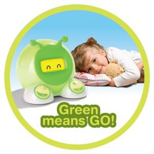 le réveil change de couleur pour les enfants