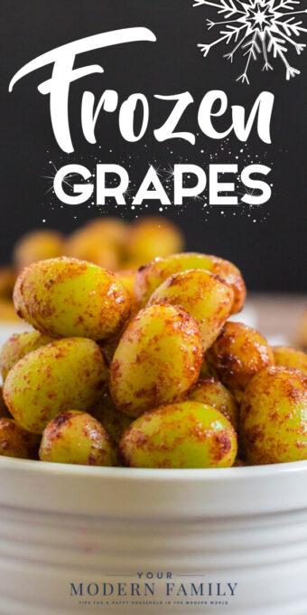 Recette de raisins surgelés - avec YELLOW!