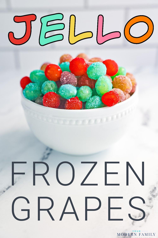 Raisins glacés confits à la gelée