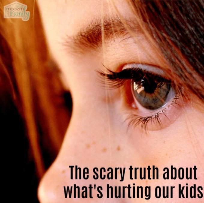 La terrible vérité sur ce qui blesse nos enfants