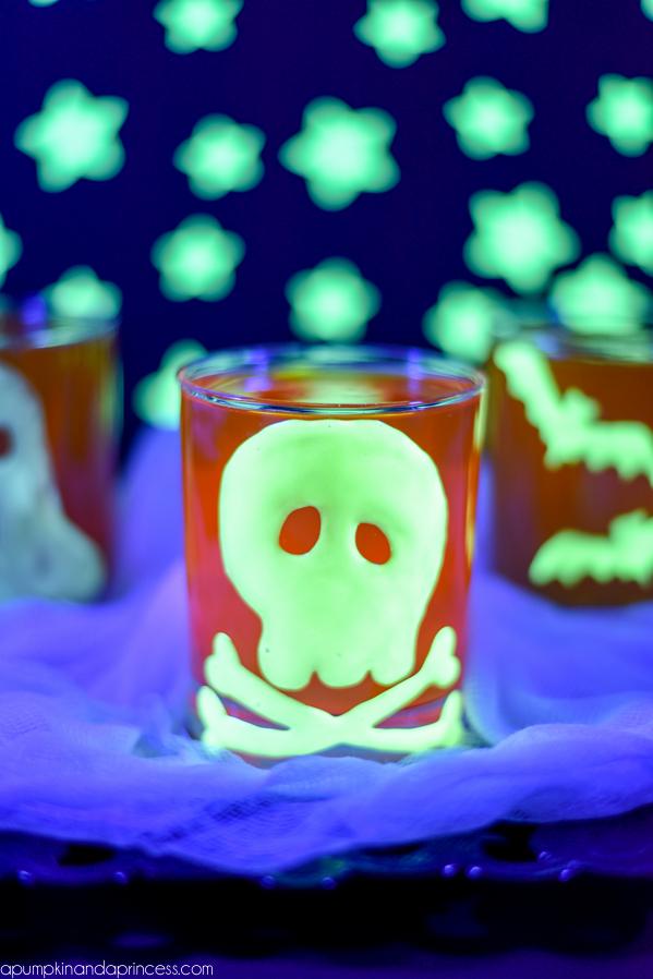Bougie d'Halloween