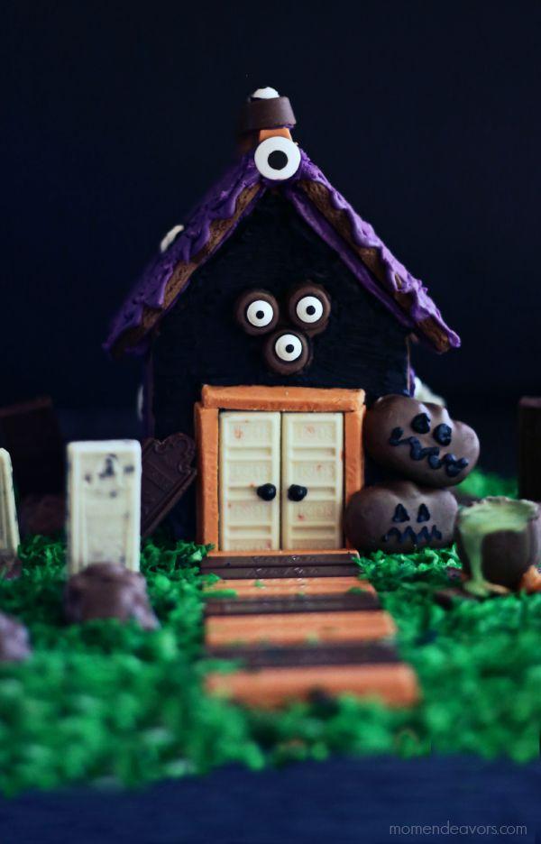 Maison en Pain d'épices Halloween