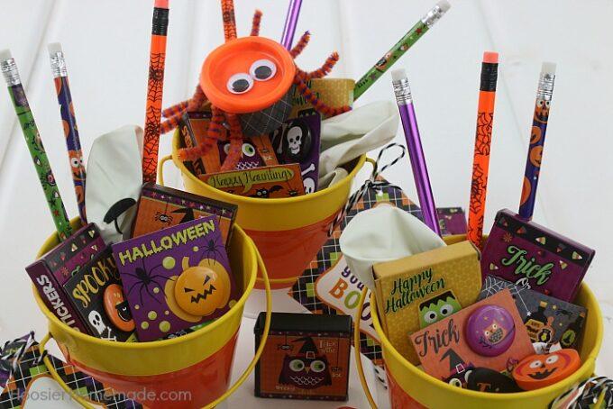 Halloween traiter des idées qui ne sont pas de la nourriture