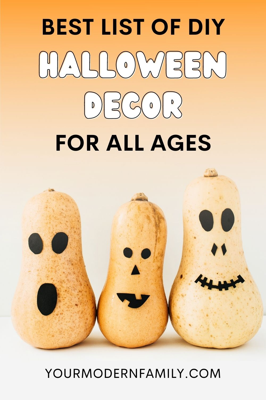 DIY déco d'halloween